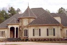 Dream House Plan - European Exterior - Other Elevation Plan #429-1