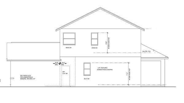 Architectural House Design - Craftsman Floor Plan - Other Floor Plan #1058-20