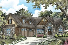 Home Plan - Cottage Exterior - Front Elevation Plan #929-992