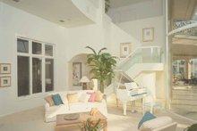 Architectural House Design - Mediterranean Interior - Family Room Plan #930-101