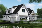Farmhouse Style House Plan - 4 Beds 3.5 Baths 2751 Sq/Ft Plan #51-1140 Exterior - Other Elevation
