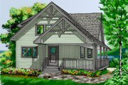 House Plan - 5 Beds 2.5 Baths 2414 Sq/Ft Plan #118-108 Exterior - Front Elevation