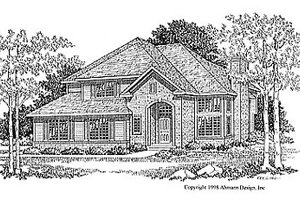 Traditional Exterior - Front Elevation Plan #70-221