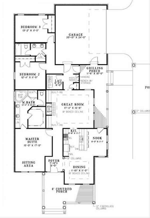 Traditional Floor Plan - Other Floor Plan Plan #17-643