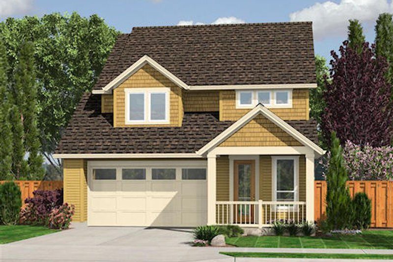 Dream House Plan - Traditional Exterior - Front Elevation Plan #48-511