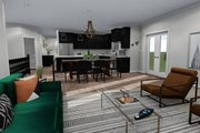 Ranch Style House Plan - 2 Beds 2 Baths 1801 Sq/Ft Plan #1060-40 Interior - Family Room