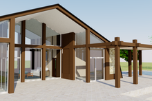 Home Plan - Contemporary Exterior - Front Elevation Plan #542-2