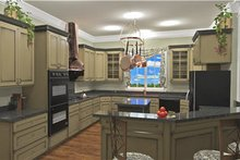 Southern Interior - Kitchen Plan #44-192