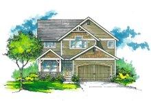 Dream House Plan - Craftsman Exterior - Front Elevation Plan #53-486