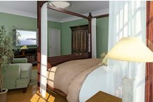 Country Interior - Master Bedroom Plan #929-18
