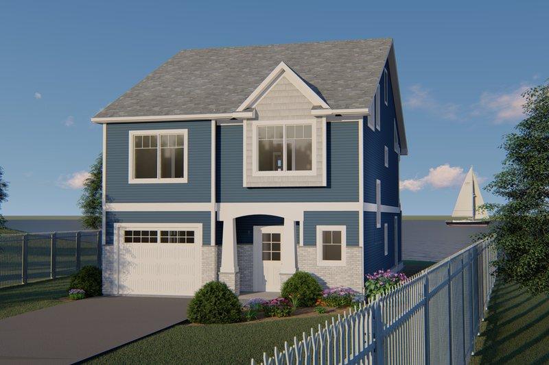 Home Plan - Craftsman Exterior - Front Elevation Plan #1064-84