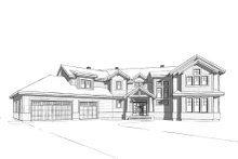 Traditional Exterior - Front Elevation Plan #23-2311