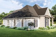 Country Style House Plan - 4 Beds 2.5 Baths 2298 Sq/Ft Plan #406-9658 Exterior - Other Elevation