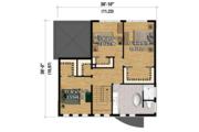Contemporary Style House Plan - 3 Beds 1 Baths 2156 Sq/Ft Plan #25-4528 Floor Plan - Upper Floor Plan