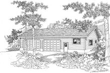 House Plan Design - Traditional Exterior - Front Elevation Plan #124-630