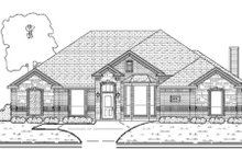 House Plan Design - Traditional Exterior - Other Elevation Plan #84-375