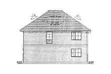 House Plan Design - Traditional Exterior - Rear Elevation Plan #18-9540