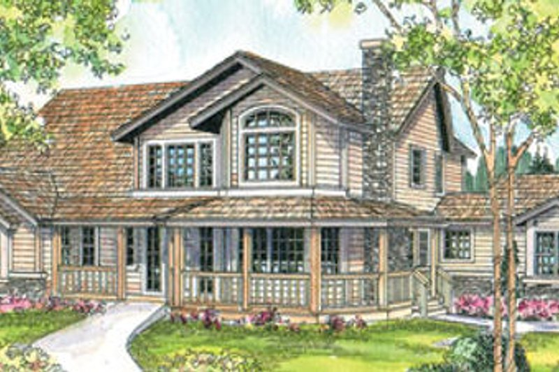 Traditional Exterior - Front Elevation Plan #124-573