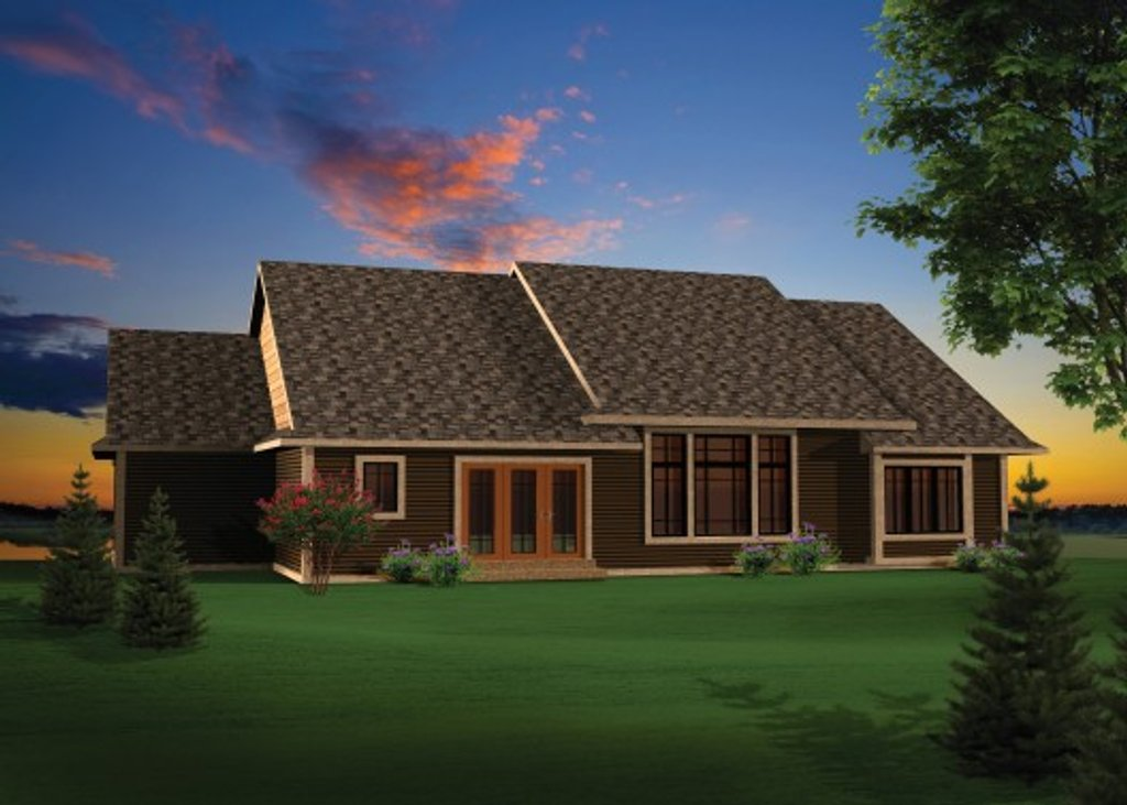 Craftsman style house plan 3 beds 2 baths 2032 sq ft for Www homeplans com