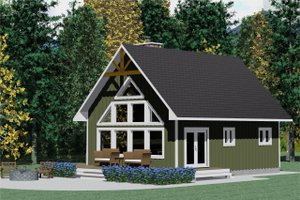 Traditional Exterior - Front Elevation Plan #126-131