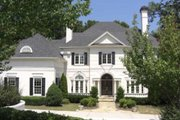 Classical Style House Plan - 4 Beds 4.5 Baths 4364 Sq/Ft Plan #119-113 Exterior - Other Elevation