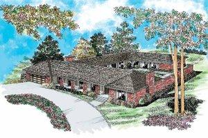House Plan Design - Ranch Exterior - Front Elevation Plan #72-202