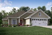 Traditional Style House Plan - 3 Beds 2 Baths 1381 Sq/Ft Plan #430-134