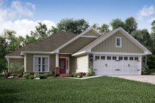 House Plan Design - Traditional Exterior - Front Elevation Plan #430-134