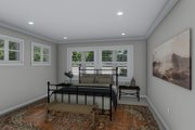 Ranch Style House Plan - 3 Beds 2 Baths 2056 Sq/Ft Plan #1060-101 Interior - Master Bedroom