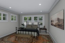 House Plan Design - Ranch Interior - Master Bedroom Plan #1060-101