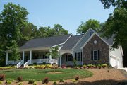 Country Style House Plan - 3 Beds 2 Baths 1830 Sq/Ft Plan #310-215 Exterior - Front Elevation