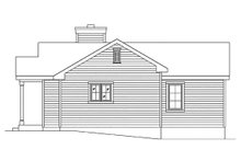 Dream House Plan - Cottage Exterior - Other Elevation Plan #22-604