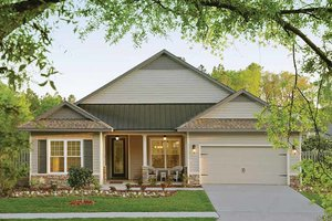 Dream House Plan - Country Exterior - Front Elevation Plan #938-1