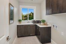 Home Plan - Contemporary Interior - Laundry Plan #1066-125