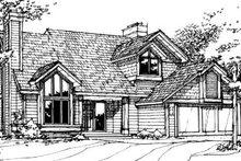 Dream House Plan - Exterior - Front Elevation Plan #320-476