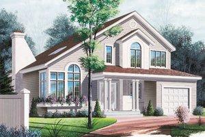 Modern Exterior - Front Elevation Plan #23-240