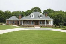 Dream House Plan - Southern Exterior - Front Elevation Plan #410-146