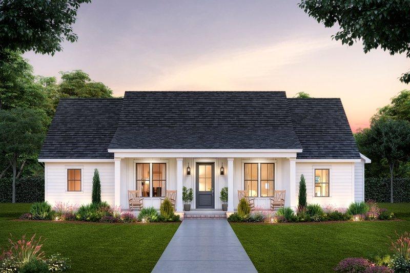 House Plan Design - Farmhouse Exterior - Front Elevation Plan #1074-47