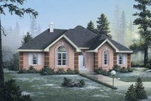 House Design - European Exterior - Front Elevation Plan #57-137