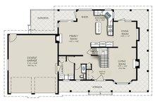 Country Floor Plan - Main Floor Plan Plan #427-2