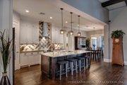 Bungalow Style House Plan - 3 Beds 3.5 Baths 3108 Sq/Ft Plan #930-19 Interior - Kitchen