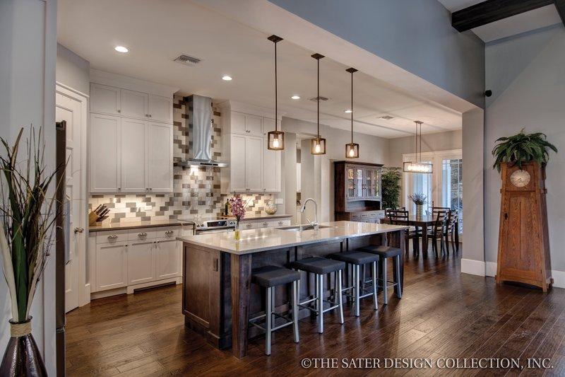 Bungalow Interior - Kitchen Plan #930-19 - Houseplans.com
