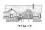 Craftsman Style House Plan - 3 Beds 2.5 Baths 2235 Sq/Ft Plan #932-10 Exterior - Rear Elevation