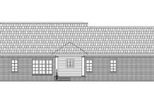 Dream House Plan - Traditional Exterior - Rear Elevation Plan #21-133