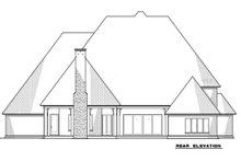Dream House Plan - European Exterior - Rear Elevation Plan #923-78