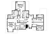 Craftsman Style House Plan - 5 Beds 3.5 Baths 3521 Sq/Ft Plan #51-541 Floor Plan - Upper Floor Plan