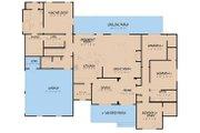 Farmhouse Style House Plan - 4 Beds 2.5 Baths 2294 Sq/Ft Plan #923-157 Floor Plan - Main Floor