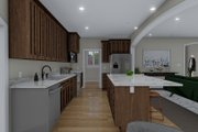 Traditional Style House Plan - 3 Beds 2 Baths 1990 Sq/Ft Plan #1060-59 Interior - Kitchen