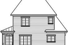 Farmhouse Exterior - Rear Elevation Plan #23-803