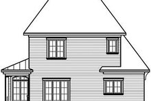 Dream House Plan - Farmhouse Exterior - Rear Elevation Plan #23-803